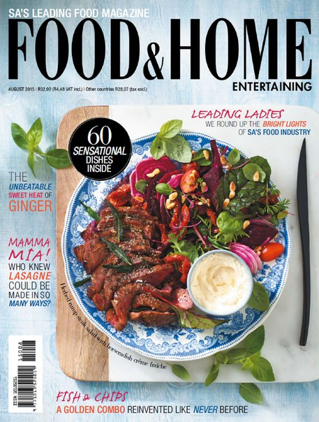 Download Food & Home Entertaining - August 2015 ZA