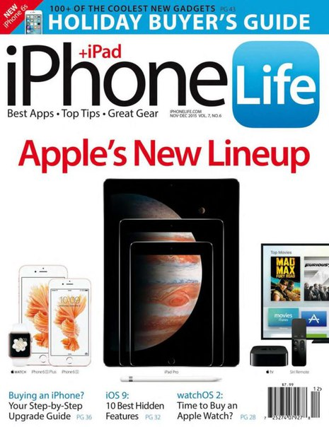Download iPhone Life - December 2015