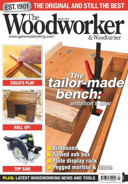 Download The Woodworker & Woodturner - March 2016