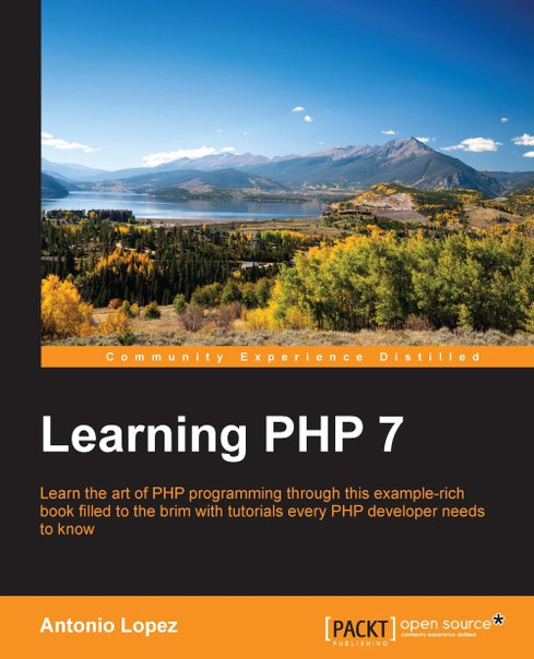 Download Learning PHP 7 - Antonio Lopez