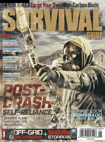 Download American Survival Guide – September 2016