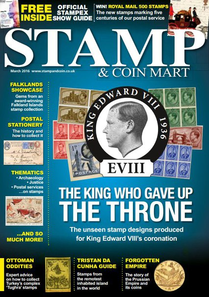 Download Stamp & Coin Mart - March 2016