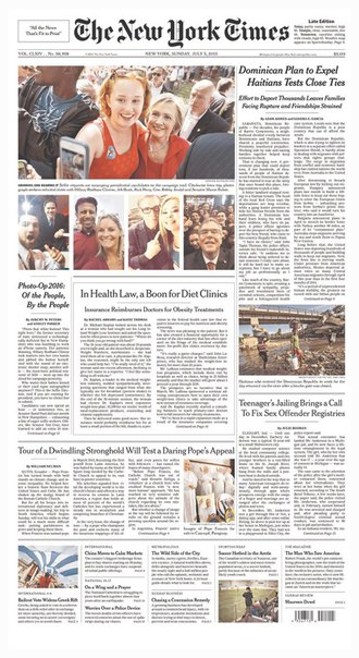 Download New York Times Headlines - calibre