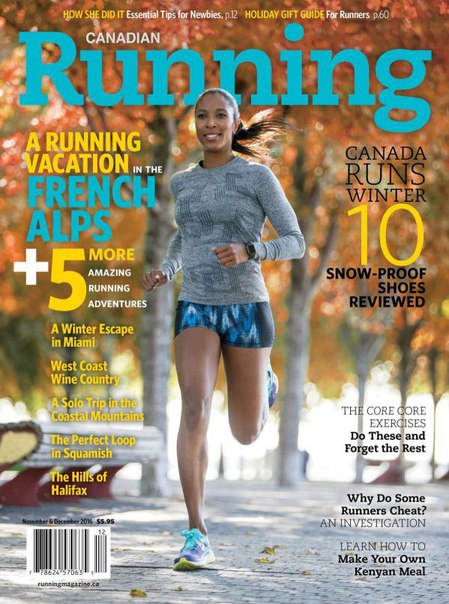 Download Canadian Running - November - December 2016
