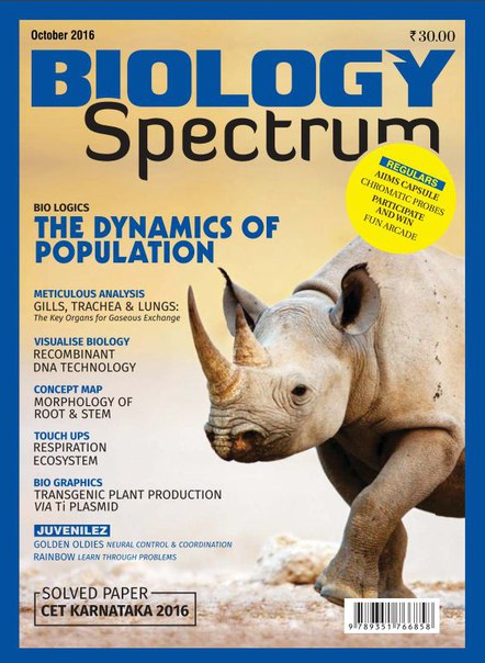 Spectrum Biology – October 2016