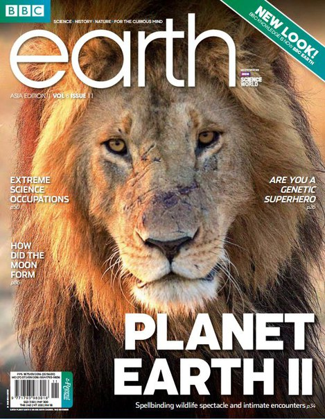 BBC Earth Singapore - November 2016-P2P