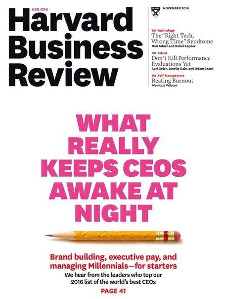 Harvard Business Review   November