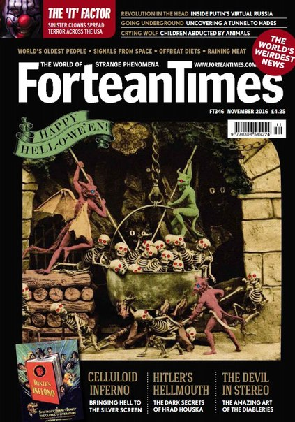 Download Fortean Times - November 2016