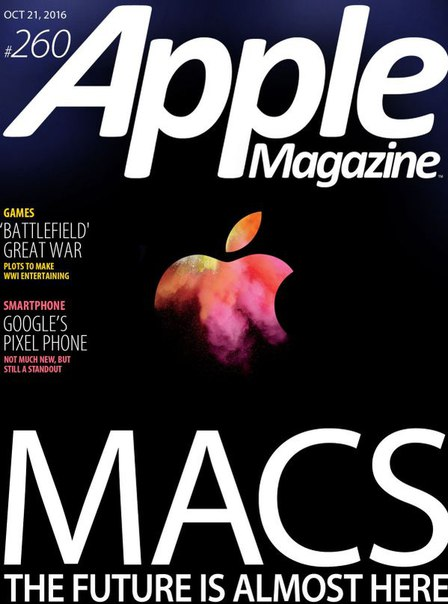 Download AppleMagazine – October 21, 2016