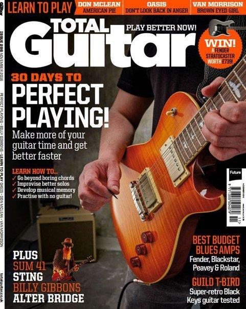 Download Total Guitar – November 2016