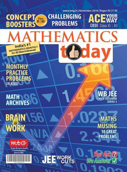 Download Mathematics Today - November 2016