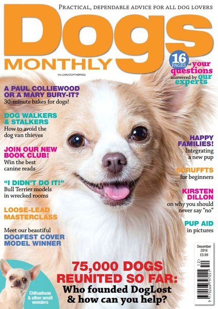 Download Dogs Monthly - December 2016