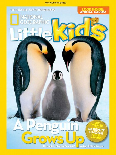 Download National Geographic Little Kids – November-December 2016