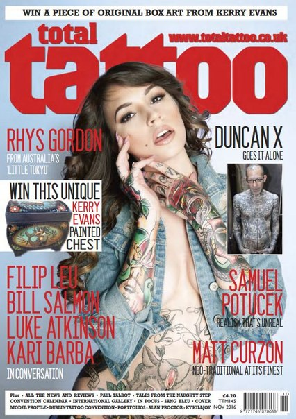 Download Total Tattoo - November 2016