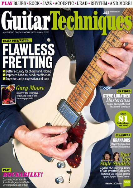 Download Guitar Techniques - December 2016