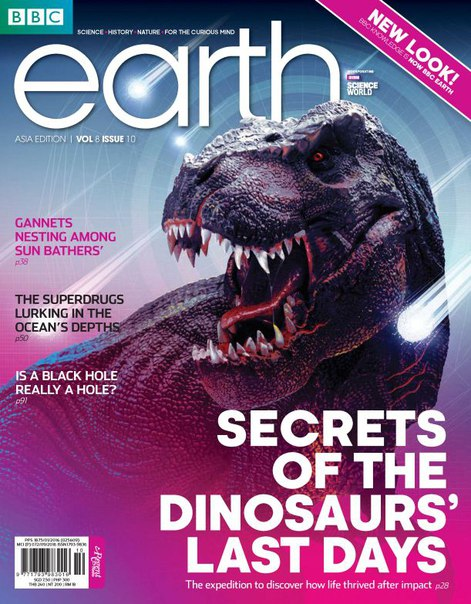 Download BBC Earth Singapore - October 2016