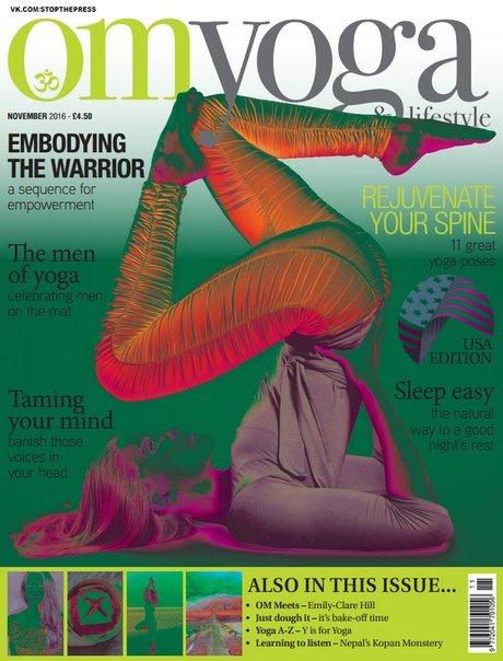 Download OM Yoga USA Magazine - November 2016