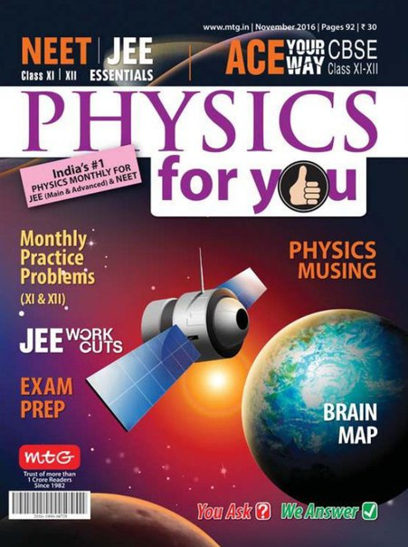 Download Physics For You - November 2016
