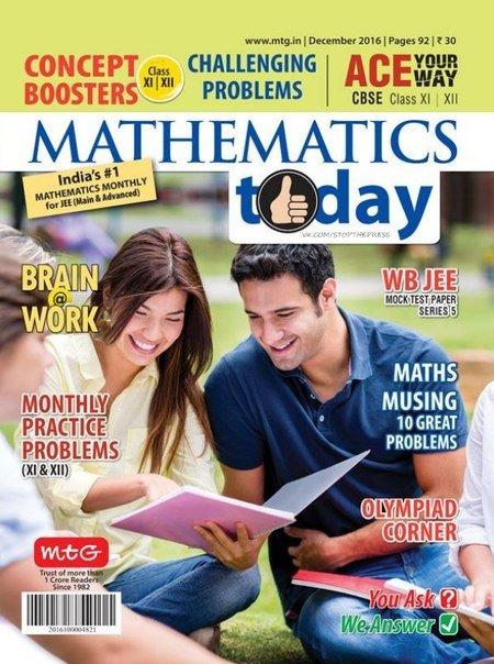 Download Mathematics Today TruePDF-December 2016