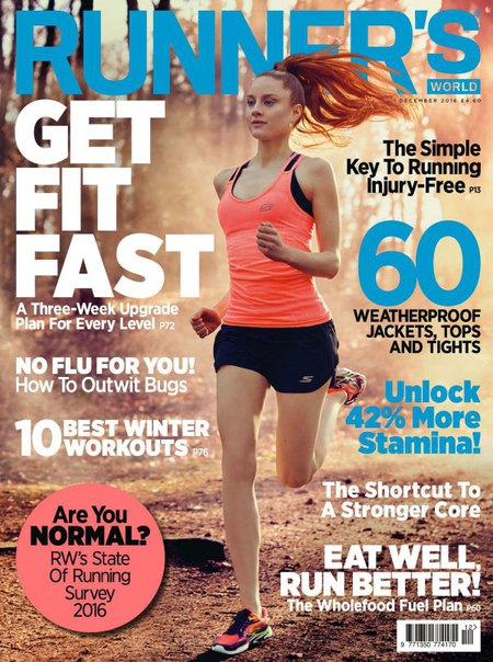 Download Runners World UK - December 2016