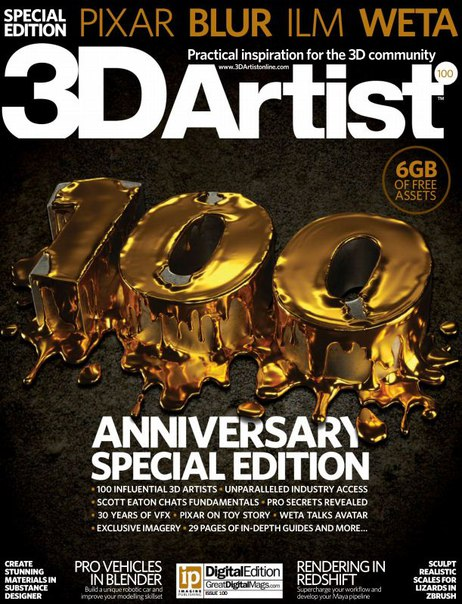 Download 3D Artist - Issue 100,2016