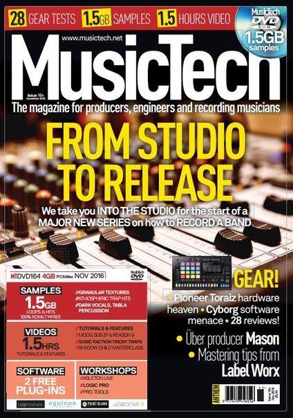 Download MusicTech – November 2016