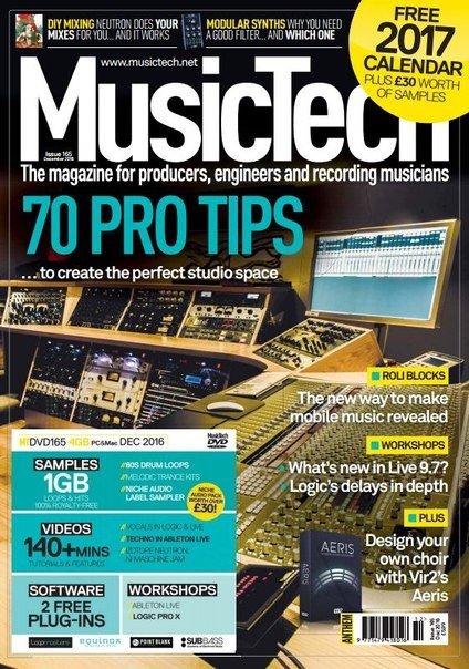 Download MusicTech - December 2016