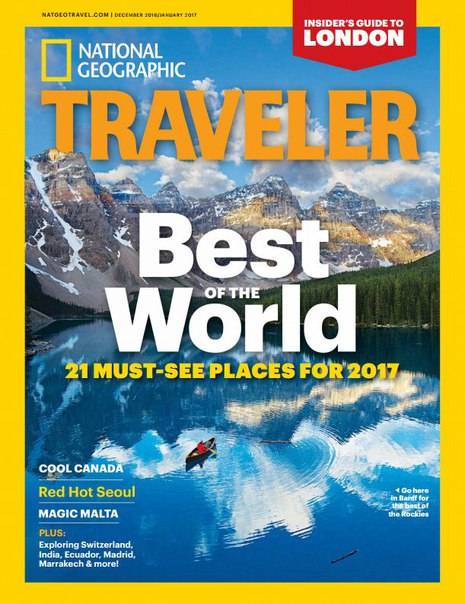 National Geographic Traveler USA – December 2016-January 2017-P2P