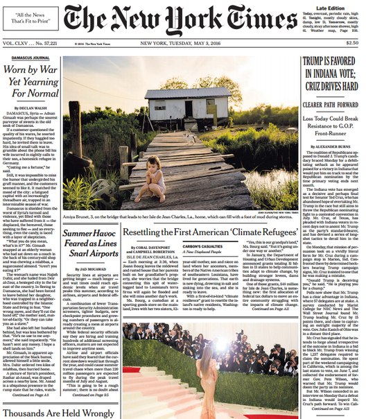 Download The New York Times May 03 2016
