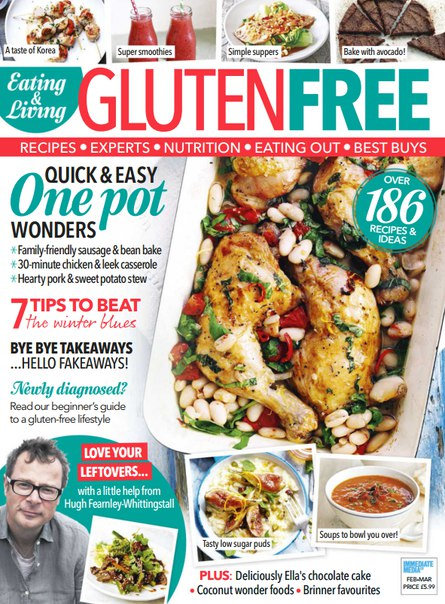 Download Eating & Living Gluten Free - March 2016