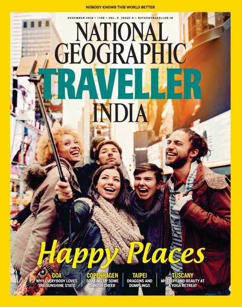 Download National Geographic Traveller India - December 2016