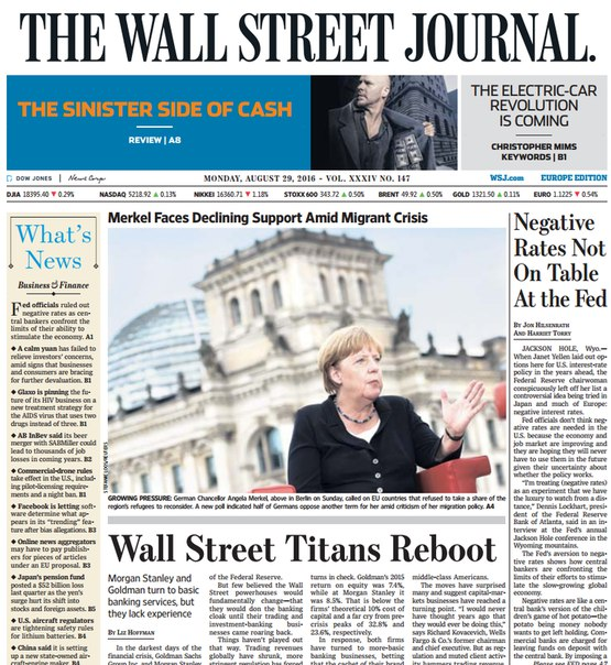 Download The Wall Street Journal Europe August 29 2016