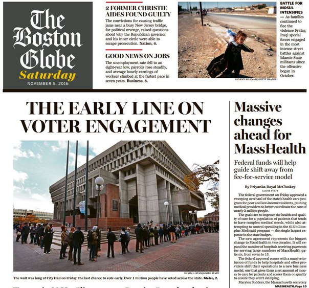 Download The Boston Globe 11052016