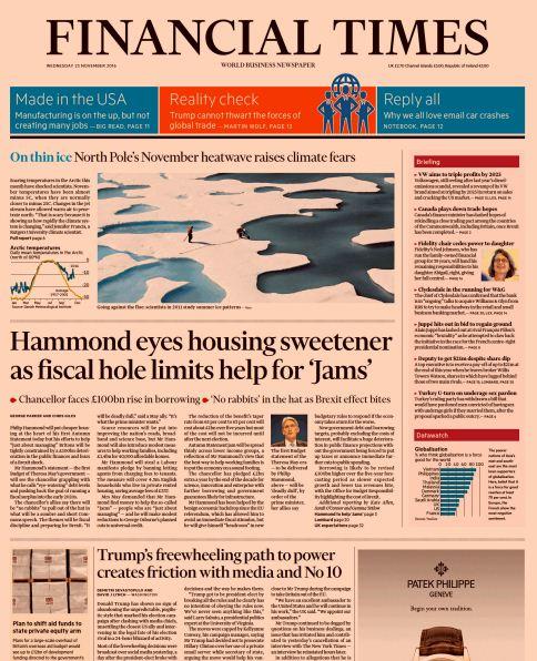 Download Financial Times UK November 23 2016