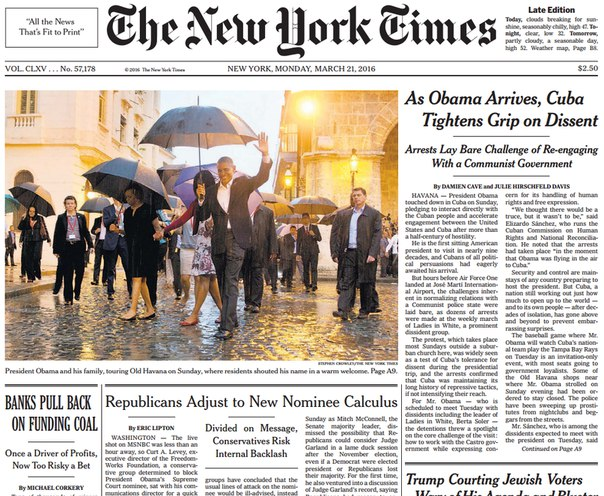 Download The New York Times March 21 2016