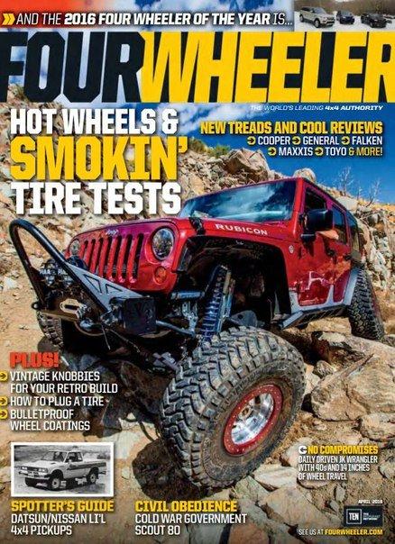 Download Four Wheeler - April 2016