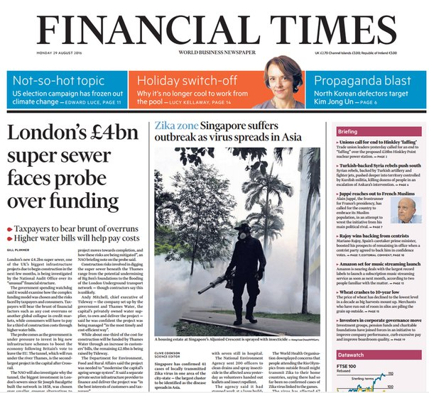 Download Financial Times UK August 29 2016