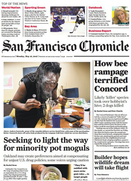 Download San Francisco Chronicle May 16 2016