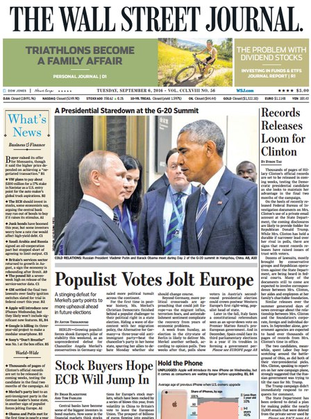 Download The Wall Street Journal September 06 20161