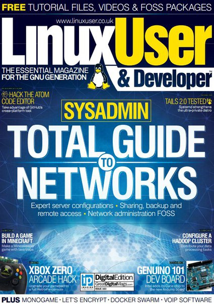 Linux User & Developer 163 – 2016 UK
