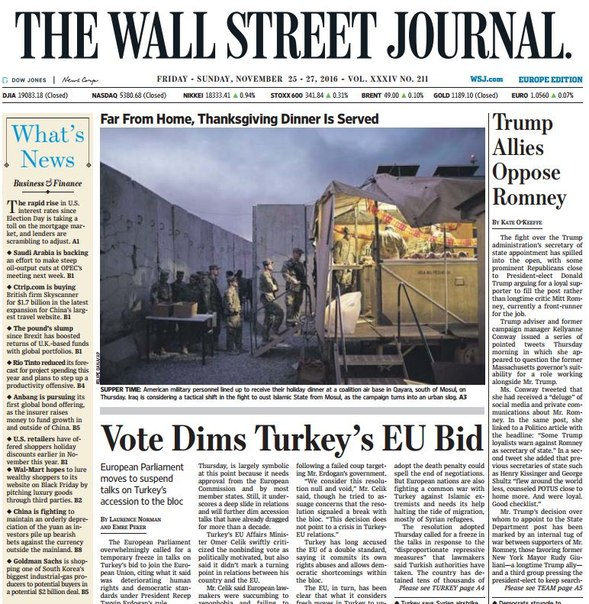 Download The Wall Street Journal Europe November 25 2016