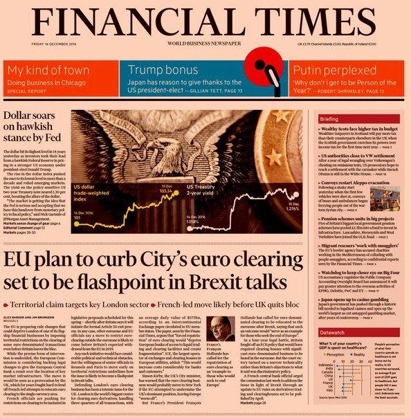 Financial Times (UK), Friday, December 16, 2016
