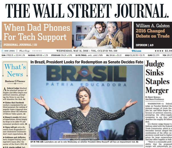 Download The Wall Street Journal May 11 2016