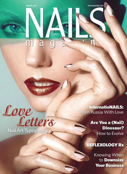 Download Nails Magazine - February 2016 USA