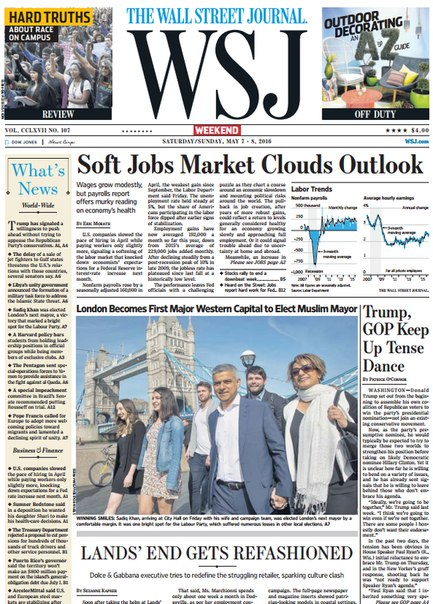 Download The Wall Street Journal Weekend May 07 08 2016
