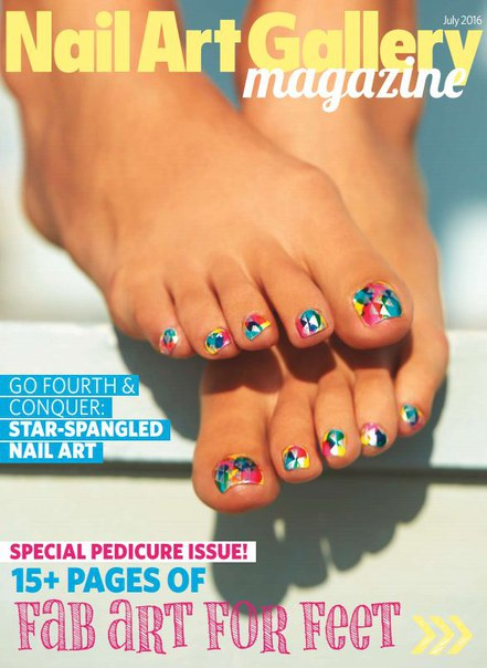 Download Nail Art Gallery Magazine - July 2016