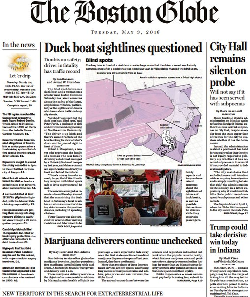 Download The Boston Globe May 03 2016