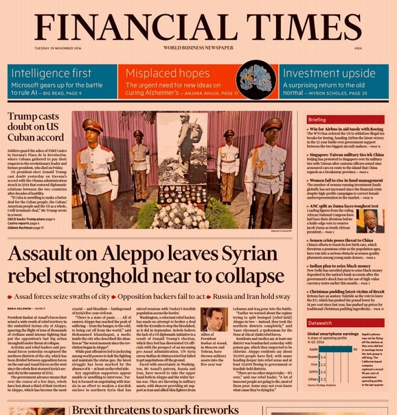 Download Financial Times (Asia), Tuesday, November 29, 2016