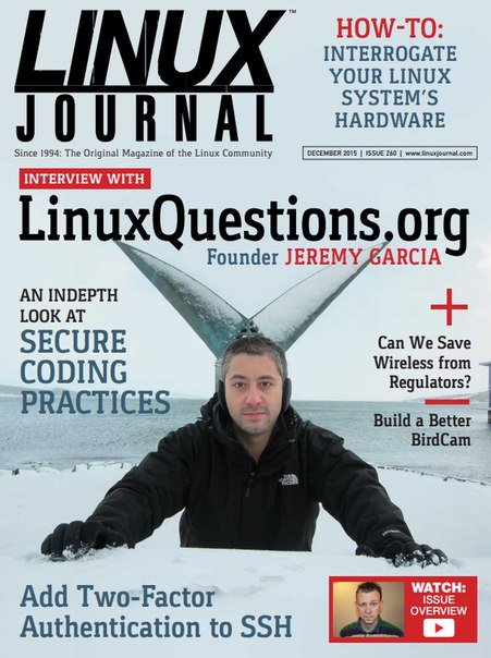 Download Linux Journal - December 2015