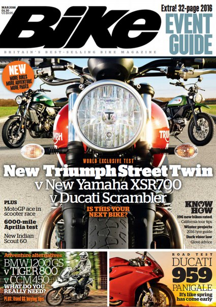 Download BIKE - March 2016
